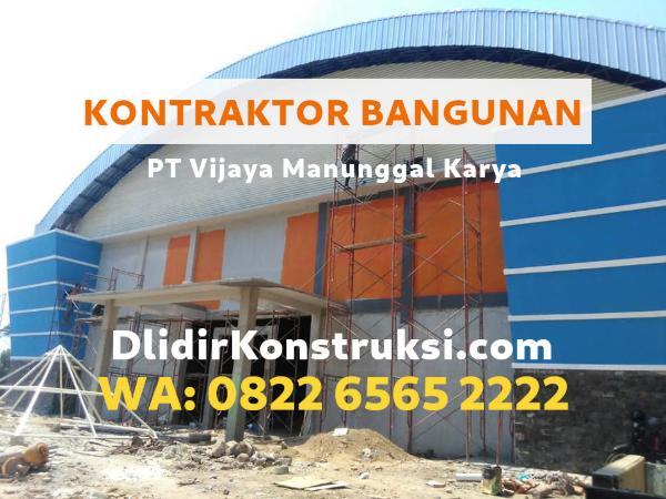 Kontraktor bangunan Talang Ubi untuk gedung gudang dan pabrik